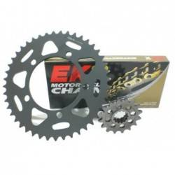 PBR EK1339E Motorcycles chain and sprockets kit