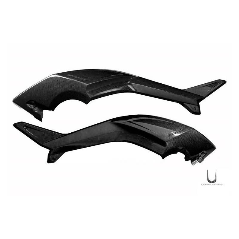 LEA0230 Lea Components Boomerang pair carbon fiber for Yamaha T-Max 530 2012-2014 -5%