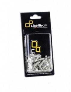 Lightech fairing screws kit ergal for Kawasaki ER-6N 2012-2014