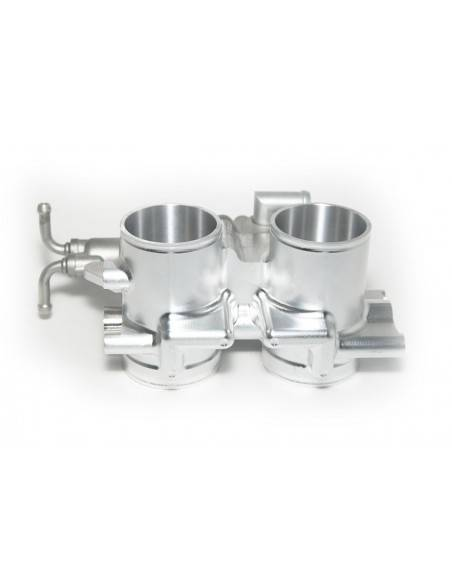 Throttle bodies oversize Ergal 7075-T6 milled of full CF-DM