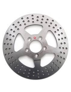 Braking brake disk round fix for Harley Davidson FXDB 1450 Dyna Street Bob 2006-2007