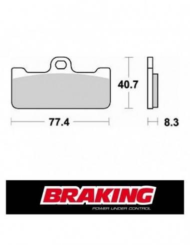 P1R776 Braking super sintered brake pads for Aprilia GP 125 1995-2000 -20%