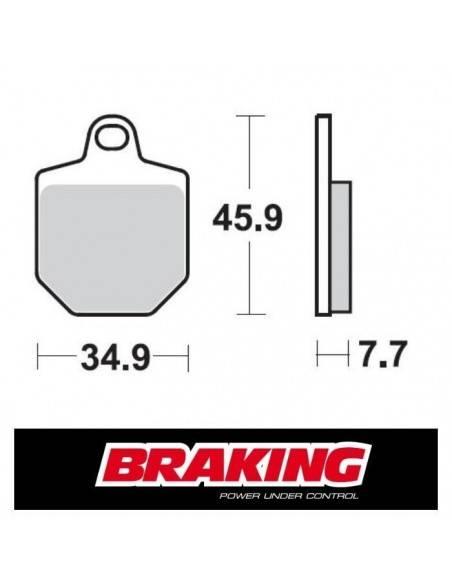 Braking 932CM55-KT Brake pads