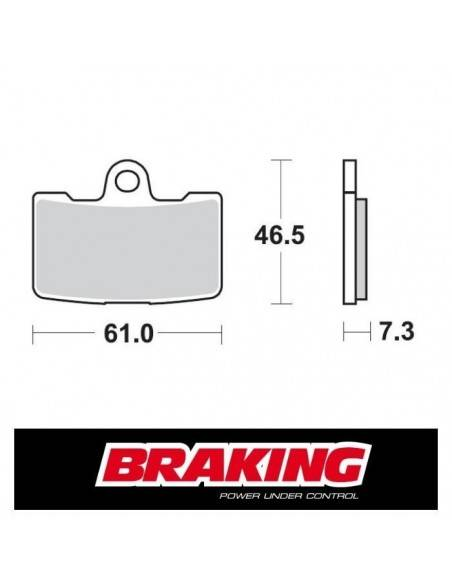 Braking 939CM55 Brake pads