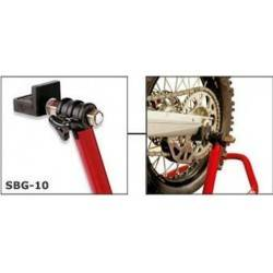 SBG-10 - Bike-Lift set of universal rubber covered pivoting adapters for RS-17 Stands