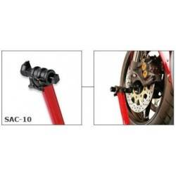 SAC/Y-10 - Bike-Lift set of hard plastic adapters for under fork use for Yamaha R1/R6