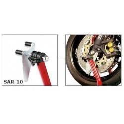 SAR-10 - Bike-Lift set of universal roller adapters