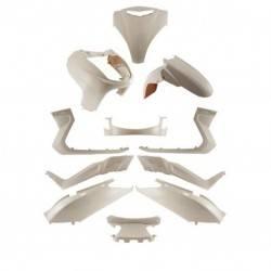 Complete fairing X-Max 2005-2006 white color 11Pcs