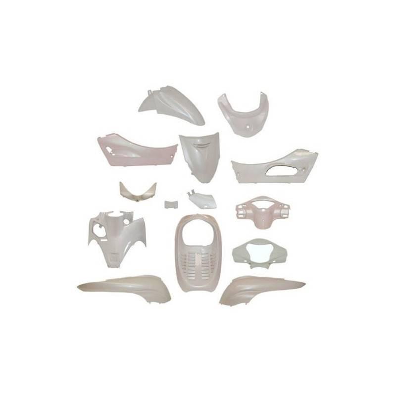77366857 complete fairing 14 parts white color sh 300i 07 10. Black Bedroom Furniture Sets. Home Design Ideas